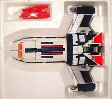ORIG GODAIKIN SHAIDER VAVILOS DX TRIPLE TRANSFORMER ROBOT SHIP & GUN w/BULLETS