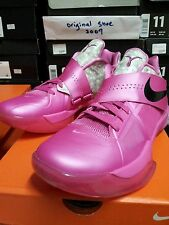 Nike Air Zoom KD IV 4 Aunt Pearl(US 13) BHM Galaxy All Star Weatherman DS pink
