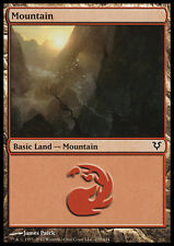 FOIL Montagna 239 - Mountain 239 MTG MAGIC AVR Avacyn Restored Ita
