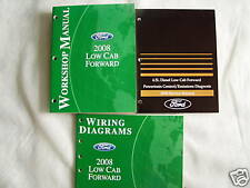 2008 Ford Low Cab Forward Service Manual Set