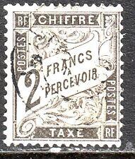 Taxe n° 23 Obl signé J.F.Brun