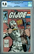 G. I. JOE, A REAL AMERICAN HERO 85 CGC 9.8 WP 2nd SILENT ISSUE STORM SHADOW