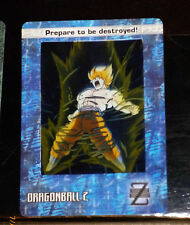 DRAGON BALL Z GT DBZ FILM COLLECTION CARDDASS CARD REG CARTE 72 NM CARDZ ARTBOX