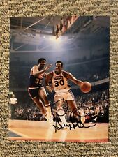 George McGinnis 76ers Signed 8 X 10 Photo