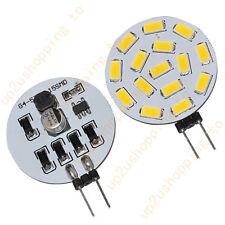 2 X G4 Reading Light 525-Lumen 15 SMD 5630 LED Warm White Bulb Lamp 12V 24V AC