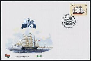 Ireland 1227 on FDC - Emigrant Ship Jeanie Johnston