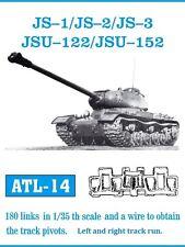 1/35 Friulmodel ATL-14 JS-1, JS-2, JS-3, JSU-122, JSU-152 Friul Metal Tracks