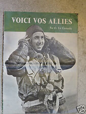 Voici vos Alliés N°4 Le Canada   Propagande britannique WW2