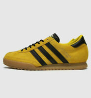 ADIDAS ORIGINALS BECKENBAUER - YELLOW / BLACK / GUM -  UK 8,  9, 10, 11