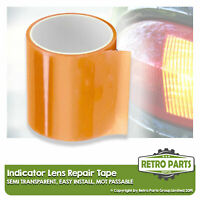 Front Rear Indicator Lens Repair Tape for Piaggio. Amber Lamp Seal MOT