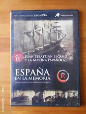DVD ESPAÑA EN LA MEMORIA 11 - JUAN SEBASTIAN ELCANO Y LA MARINA ESPAÑOLA (U4)