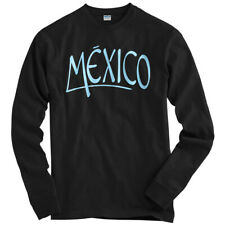Mexico Handstyle Long Sleeve T-shirt LS - Street Art DF City Aztec - Men / Youth