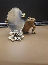 Tibetan Silver color frog  design charms 18pcs EF0012