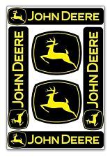 Set 6 Vinyle Autocollant John Deere Logo Emblème Tracteur Voiture Moto