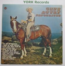 GENE AUTRY - Favourites - Excellent Condition LP Record Ember CW 145