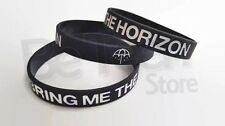3 pieces Bring me the Horizon Silicone wristband Bracelets Accesories