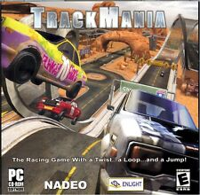 TRACKMANIA TRACK MANIA (PC Racing Games) Win XP / 2000 * BRAND NEW & SEALED