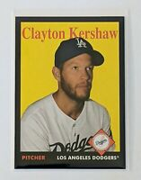 2019 Topps Archives Clayton Kershaw #51 PURPLE Parallel /175 Los Angeles Dodgers