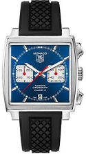CAW2111.FT6021 | TAG HEUER MONACO | BRAND NEW BLUE DIAL AUTOMATIC MENS WATCH