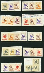 Western Australia Revenue Duty Stamps - 1c to 25c (30) - Used