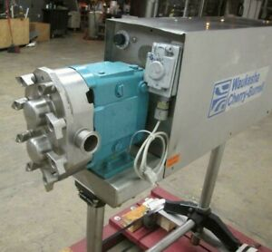 WAUKESHA Size 30 POSITIVE DISPLACEMENT ROTARY PUMP