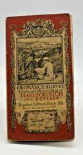 Ordnance Survey Map Marlbrough Devizes Scale 1 inch to 1 mile. Pub.1919. Ref 112