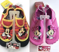 Disney Minnie Mouse Girls Water Shoes - Size 9/10 Model 24971077