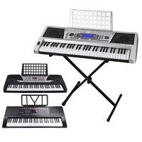61 Key Electric Keyboard Digital Piano Instrument Kids Talent Practise Xmas Gift