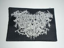 DROWNING THE LIGHT EMBROIDERED PATCH