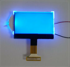 12864 COG Character 128x64 Dots Graphic Matrix LCD Display Module Blue Backlight