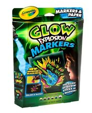 Crayola Glow Explosion - Markers & Paper