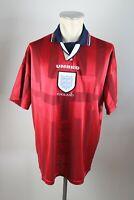England Trikot Gr. XLUmbro Jersey Lions WM 1998  Away jersey 90s vintage Shirt