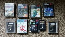 Lof of 9 VIDEOPAC games phillips Freedom Fighters Satellite Cosmic Odyssey
