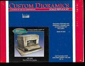 custom dioramics west wall machine gun bunker cd1141