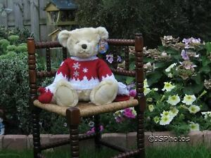 Harrods Large Foot Dated Christmas Bear Oscar 2008 with All Tags