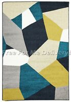 TAYLOR INDOOR/OUTDOOR COLOURFUL MOSAIC DESIGN RUG (XL) 240x330cm *FREE DELIVERY