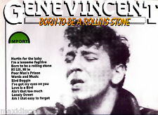 LP - Gene Vincent - Born To Be A Rolling Stone (ROCK) LP VINYL MINT, ULTRA RARE