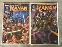Star Wars Kanan The Last Padawan 1 & 6 - MEXICO EDITION - New Polybagged