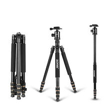 Professional Portable Tripod Monopod&Ball Head Travel for Canon Nikon SLR Camera