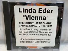 LINDA EDER Vienna CD (PROMO Single)
