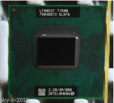Intel Core 2 Duo T7500 SLA44 SLAF8 2.2 GHZ 4MB 800MHZ Socket P Processor cpu