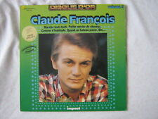 CLAUDE FRANCOIS 33 TOURS FRANCE COMME D'HABITUDE+