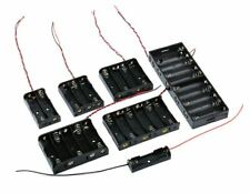 AA Battery Holder, 8 x AA with wire tails. [Flat 8 x 1] . . . NEW