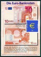 BUND MK 2002 EURO-EINFÜHRUNG PRIVATE !! MAXIMUMKARTE CARTE MAXIMUM CARD MC bt19