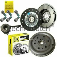 CLUTCH KIT, CSC & LUK DUAL MASS FLYWHEEL FOR AUDI A3 LIMOUSINE 2.0 TDI QUATTRO