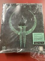 Quake II PC Video Game In Big Box Sealed But Has Some Damage