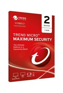 TREND MICRO Micro Maximum Security 2 Users/Devices 1 Year OEM