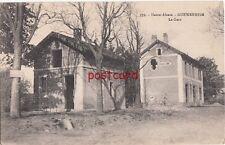1918 FRANCE GUEWENHEIM Haute-Alsace La Gare WWI damage