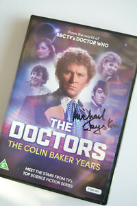 Doctor Who: THE DOCTORS - THE COLIN BAKER YEARS Signed by Michael Jayston