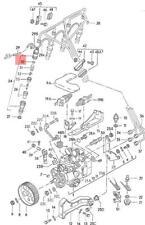 Genuine Adjusting Washer VW AUDI Dasher EuroVan Golf Jetta Passat 068130266